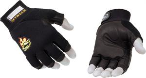 Leather 3/4 Finger Glove